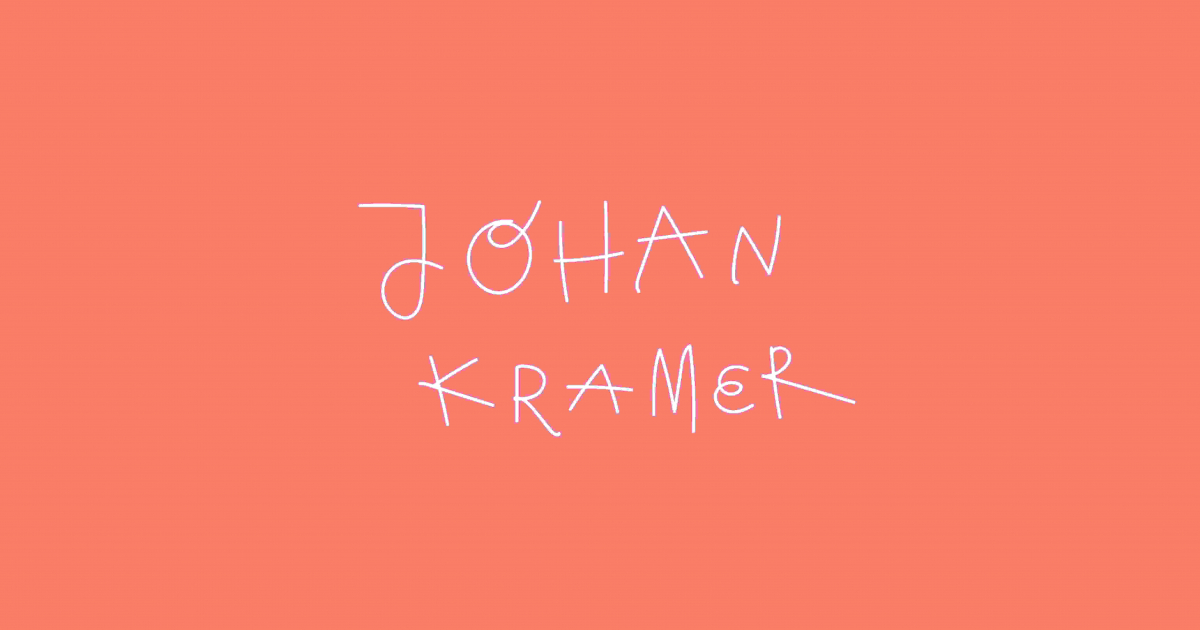 Let's talk about Johan Kramer