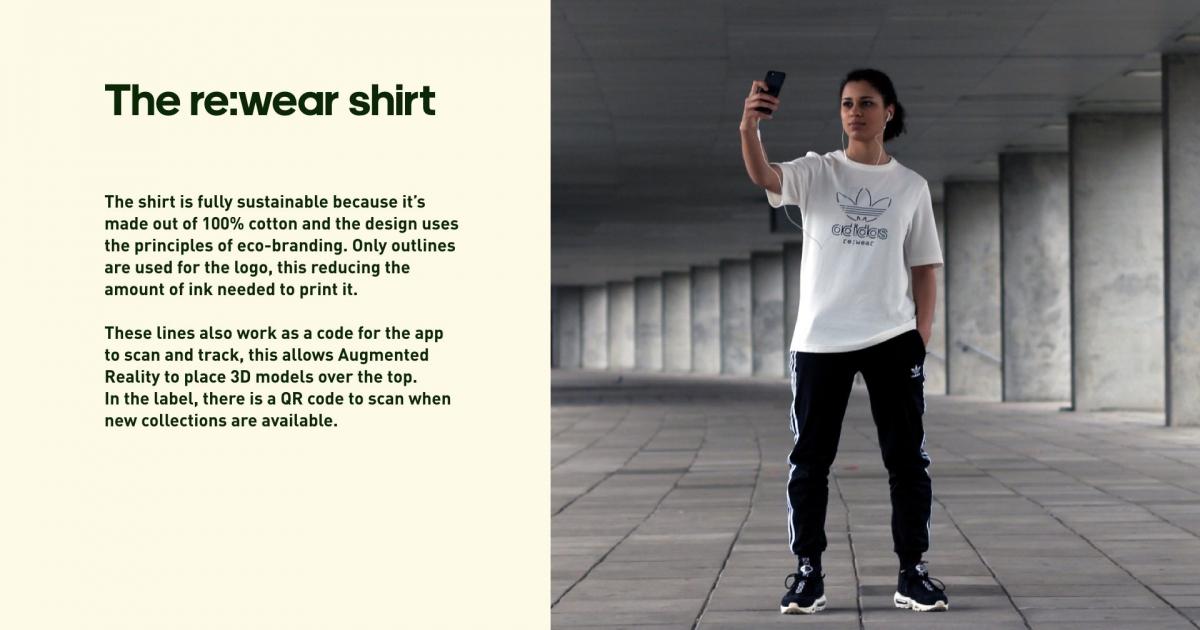 adidas shirt qr code