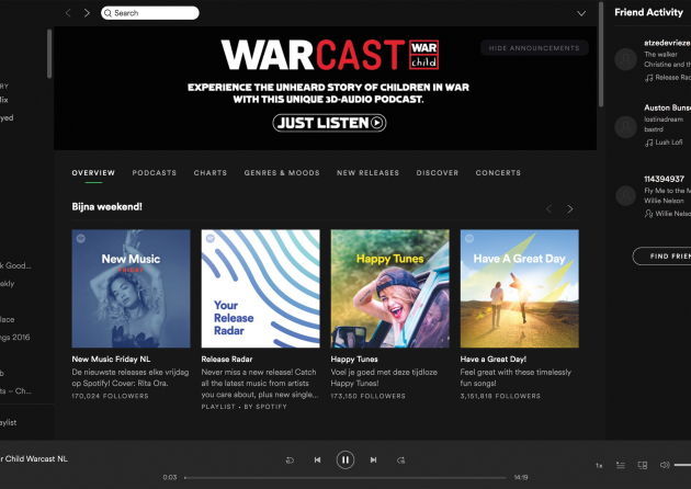 The Warcast  A 3d-audio journey of children in war