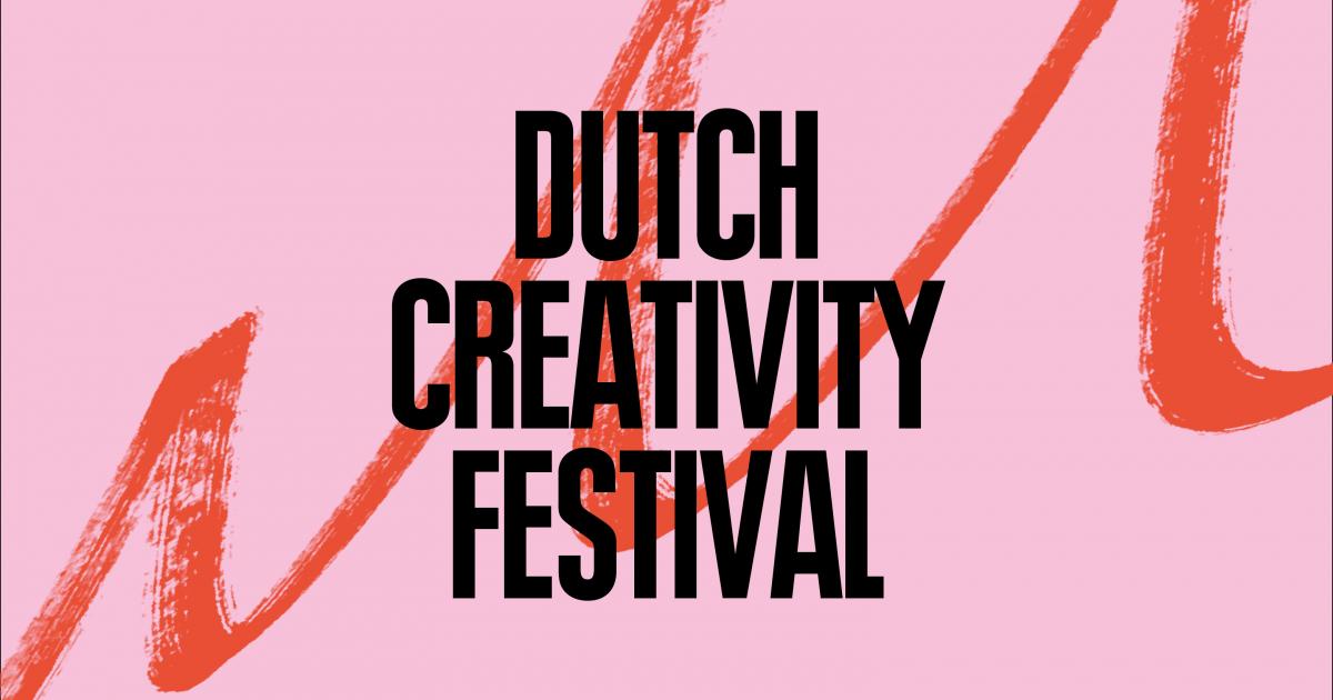 Dutch Creativity Festival 2019