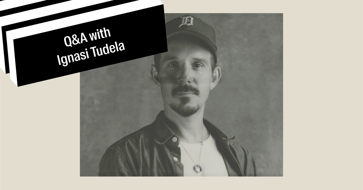 'It's in our hands to proactively look for opportunities to drive change' – Global Creative Director, Ignasi Tudela
