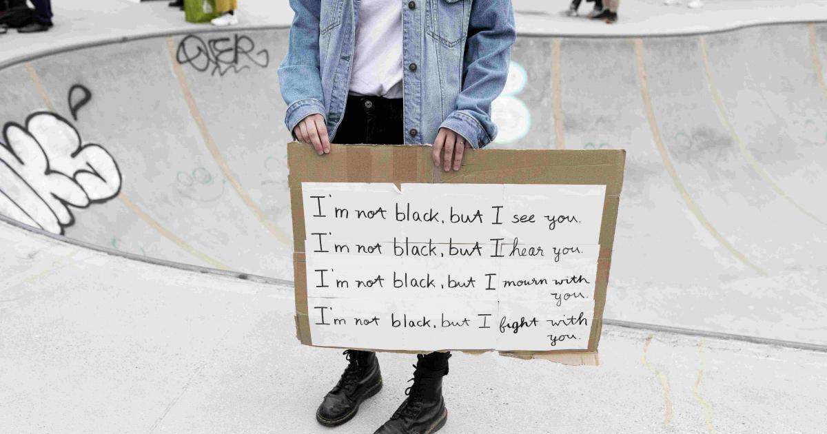 Let's Use Our Voice: Black Lives Matter #2